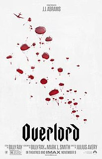 <i>Overlord</i> (2018 film) 2018 American action horror film