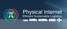 Logo for the Physical Internet Initiative.