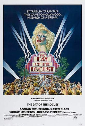 The Day of the Locust (film) - Theatrical release poster