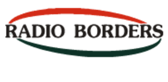 Radio Borders - Radio Borders logo used from 1998 to 2015.