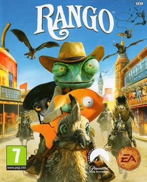 Rango (video game) - Image: Rango video game cover