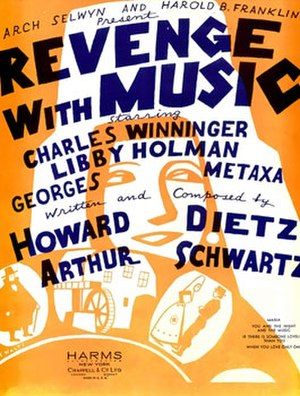 Revenge with Music - Sheet music cover (cropped)