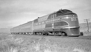 Rock Island Rockets (1937) - Rocky Mountain Rocket, east of Denver, Colorado, November 25, 1937