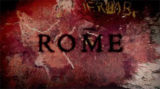 Rome (TV series) - Image: Rome title card
