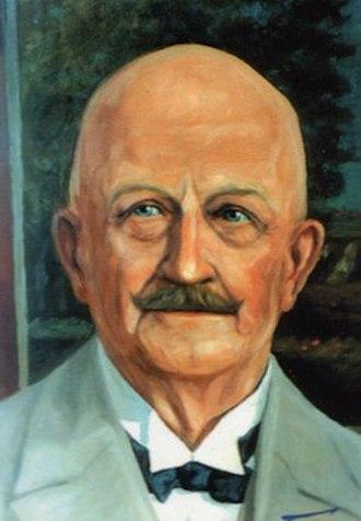 Rudolf Tarnow - A portrait of Rudolf Tarnow