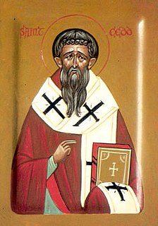 Cedd 7th-century Bishop of London and saint