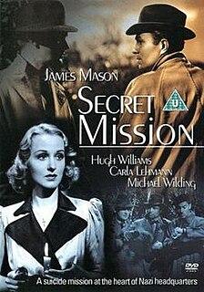 <i>Secret Mission</i> 1942 film by Harold French