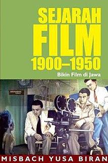 <i>Sejarah Film 1900–1950</i> book by Misbach Yusa Biran