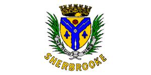 Sainte-Catherine-de-Hatley, Quebec - Image: Sherbrooke flag