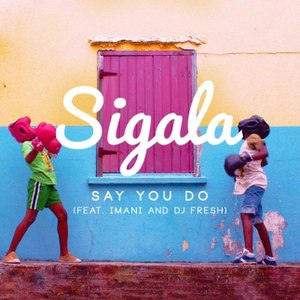 Say You Do (Sigala song) - Image: Sigala Say You Do cover