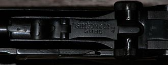 Simson (company) - Toggle of a Luger P08 pistol made by Simson