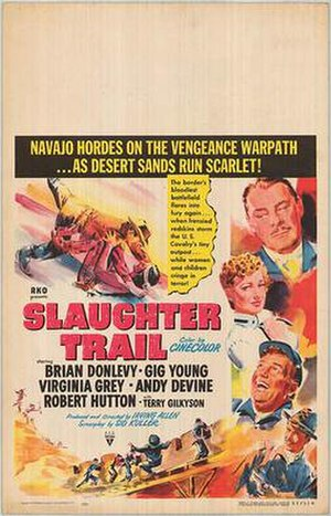 Slaughter Trail - Original film poster