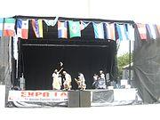 outdoor stage in Edmonton