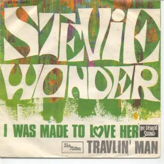 I Was Made to Love Her (song) - Image: Stevie Wonder I Was Made To Love Her 7Inch Single Label