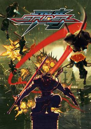 Strider (2014 video game) - Image: Strider 2014 box art