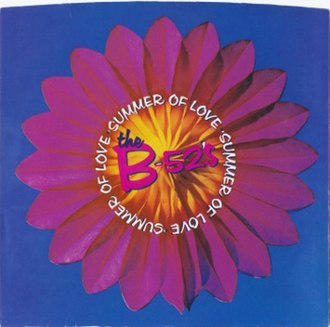 Summer of Love (The B-52's song) - Image: Summer of Love (The B 52's single)