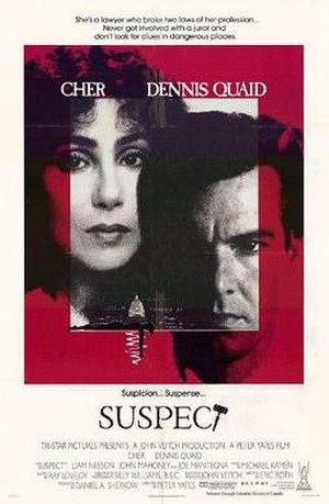 Suspect (1987 film) - Theatrical release poster