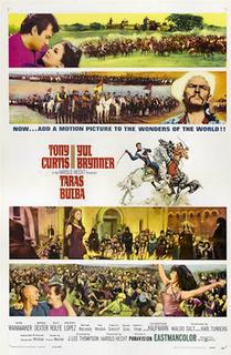 <i>Taras Bulba</i> (1962 film) 1962 film by J. Lee Thompson