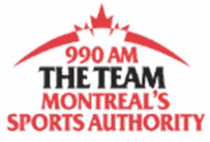 CKGM - Team 990 logo
