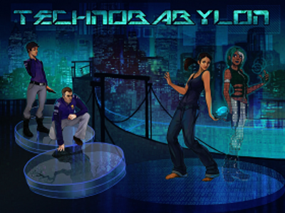 Picture of a game: Technobabylon