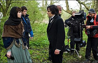 Tess of the D'Urbervilles (2008 TV serial) - Gemma Arterton and Hans Matheson shooting on location.