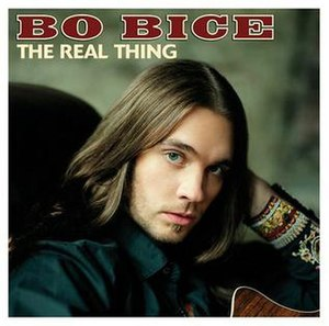 The Real Thing (Bo Bice album) - Image: The Real Thing BB