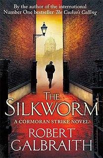 <i>The Silkworm</i> 2014 crime fiction novel written by J. K. Rowling