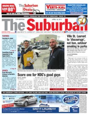 The Suburban - Image: The Suburban Newspaper