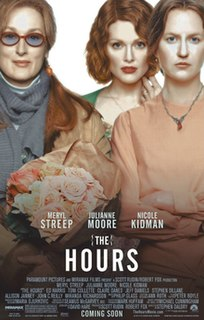 <i>The Hours</i> (film) 2002 drama film directed by Stephen Daldry