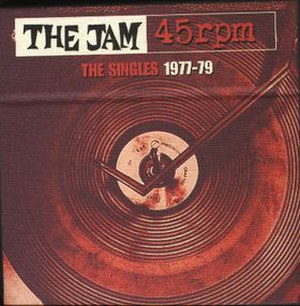 45 rpm: The Singles, 1977–1979 - Image: The Jam 45s 1977 1979