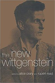 <i>The New Wittgenstein</i> book by Alice Crary