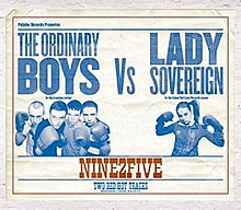 The Ordinary Boys Vs. Lady Sovereign - Nine2Five (CD & Vinyl 1).jpg