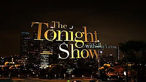 Tonight Show Photo