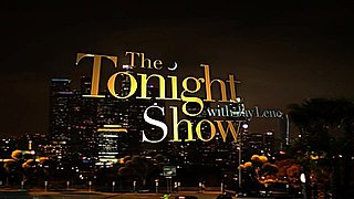 <i>The Tonight Show with Jay Leno</i> American talk show hosted by Jay Leno (1992-2009 and 2010-2014)