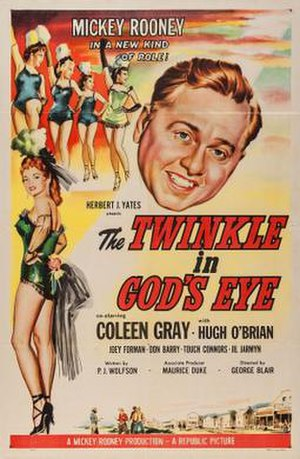 The Twinkle in God's Eye - Theatrical release poster