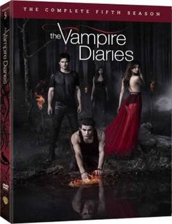 The Vampire Diaries Season 5 DVD Cover