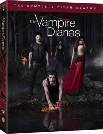 The Vampire Diaries (season 5) - Image: The Vampire Diaries Season 5 DVD Cover