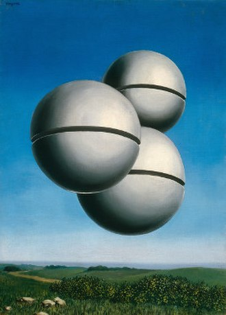 The Voice of Space - Image: The Voice of Space (Magritte)