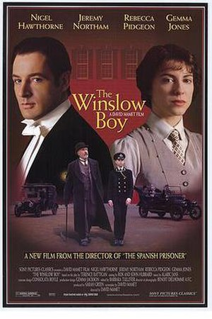 The Winslow Boy (1999 film) - Theatrical release poster