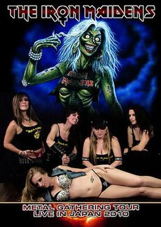 <i>Metal Gathering Tour Live in Japan 2010</i> 2010 video by The Iron Maidens