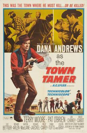 Town Tamer - Theatrical release poster