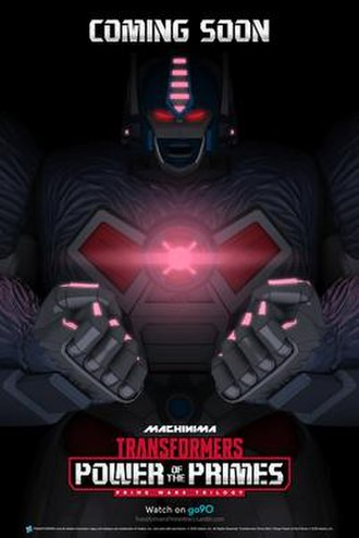 Transformers: Power of the Primes - Official teaser poster