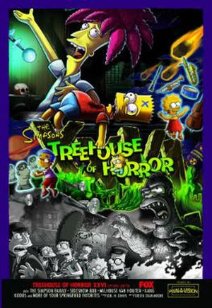 Treehouse of Horror XXVI - Image: Treehouse of Horror XXVI poster