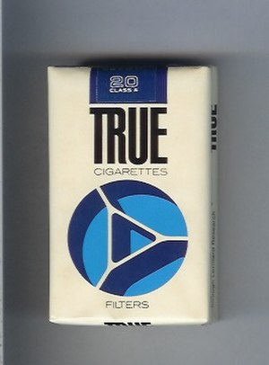 True (cigarette) - Image: True Filters (Full Flavour)