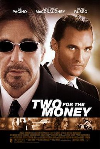 Two for the Money (2005 film) - Theatrical release poster