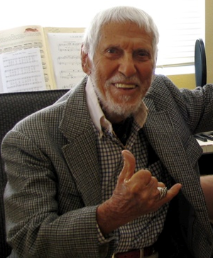 "Bill Tapia - Uncle Bill ""Tappy"" Tapia in 2007"