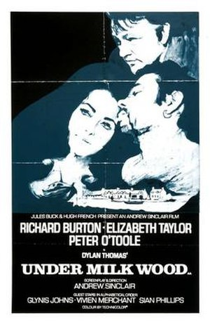 Under Milk Wood (1972 film) - Image: Under Milk Wood 1972 Poster