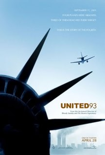 <i>United 93</i> (film) 2006 film by Paul Greengrass