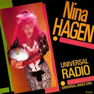 Universal Radio (song) - Image: Universal Radio 1985 UK