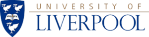 Corporate logo of the University of Liverpool ...